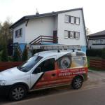 Instalacja systemu alarmowego w domku w Żaganiu