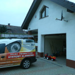 Instalacja systemu alarmowego w willi w Bolesławcu