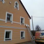 Instalacja zabezpieczeń domu w Lubaniu.