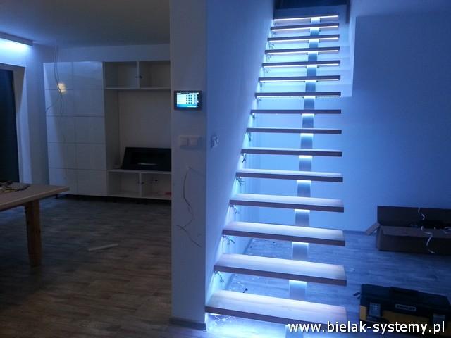 Inteligentny budynek - Sterowanie LED