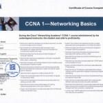 Certyfikat CISCO - Sieci Komputerowe