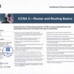 Certyfikat CISCO - Konfiguracja routingu