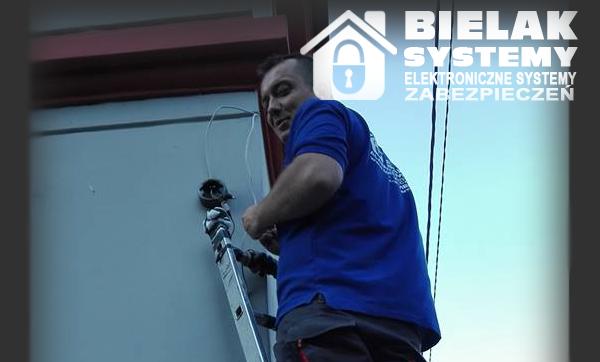 Instalacja systemu alarmowego oraz monitoringu okolice Bogatyni