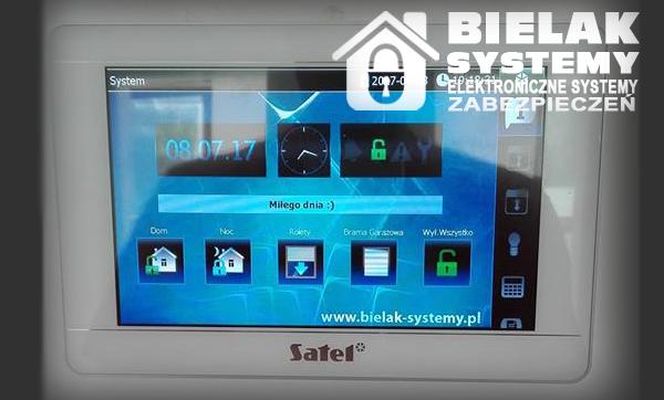 Instalacja systemu alarmowego, monitoringu okolice Węglińca