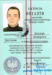Licencja Pracownika Technicznego do projektowania i instalowania systemów zabezpieczeń