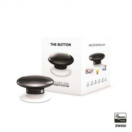 Fibaro The Button FGPB-101-2 czarny