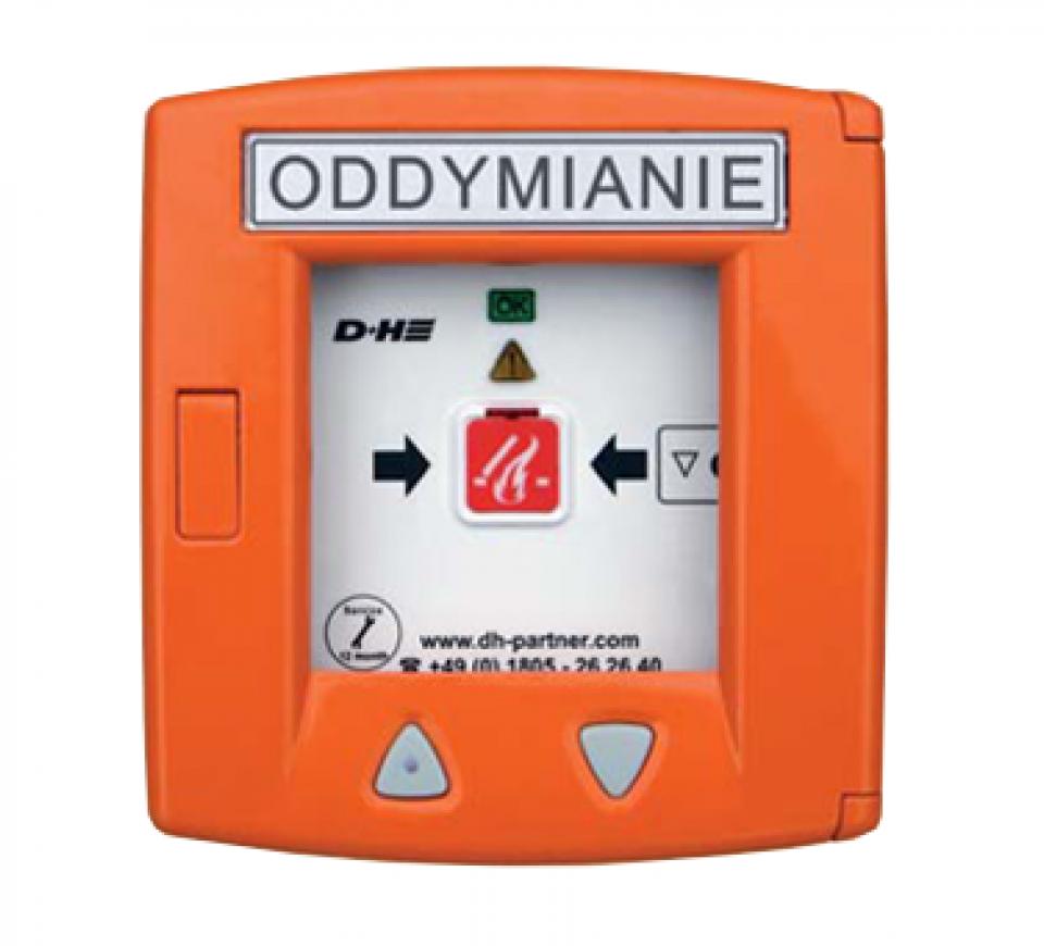 RZN 4503-T D+H Centrala oddymiania z wbudowanym przyciskiem oddymiania i przewietrzania