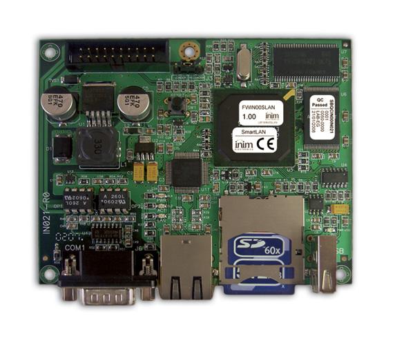 SmartLAN/485 INIM TCP/IP interfejs dla central konwencjonalnych Smart LINE