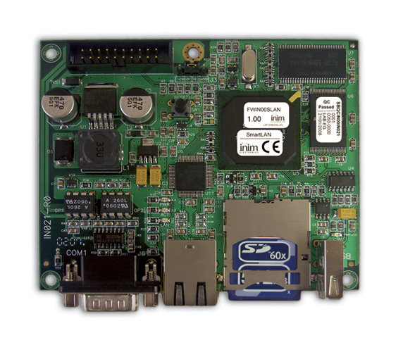 SmartLAN/SF INIM Karta sieciowa Ethernet do sieci LAN