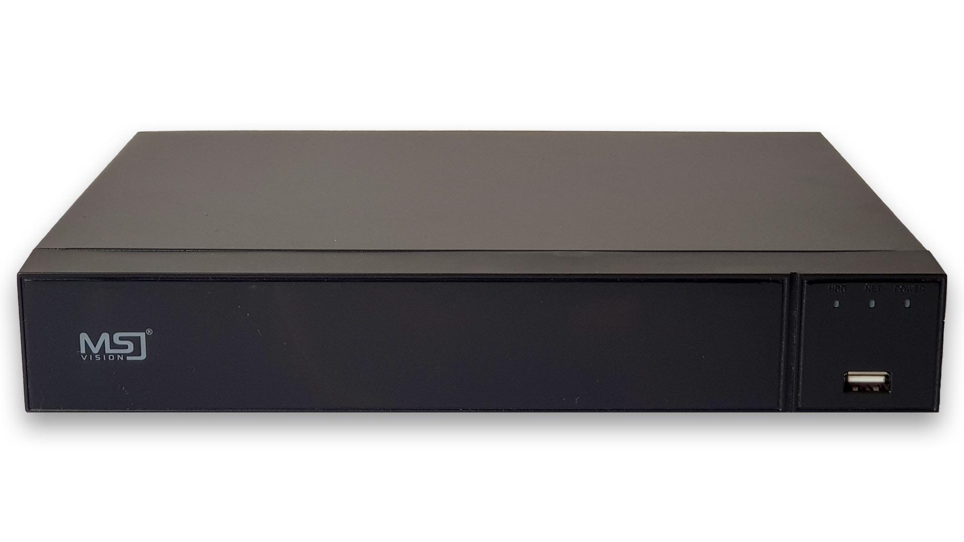 MSJ-NVR-6109PRO 5MPx