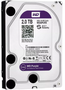 2TB 2000GB Western Digital Purple Bielak-Systemy