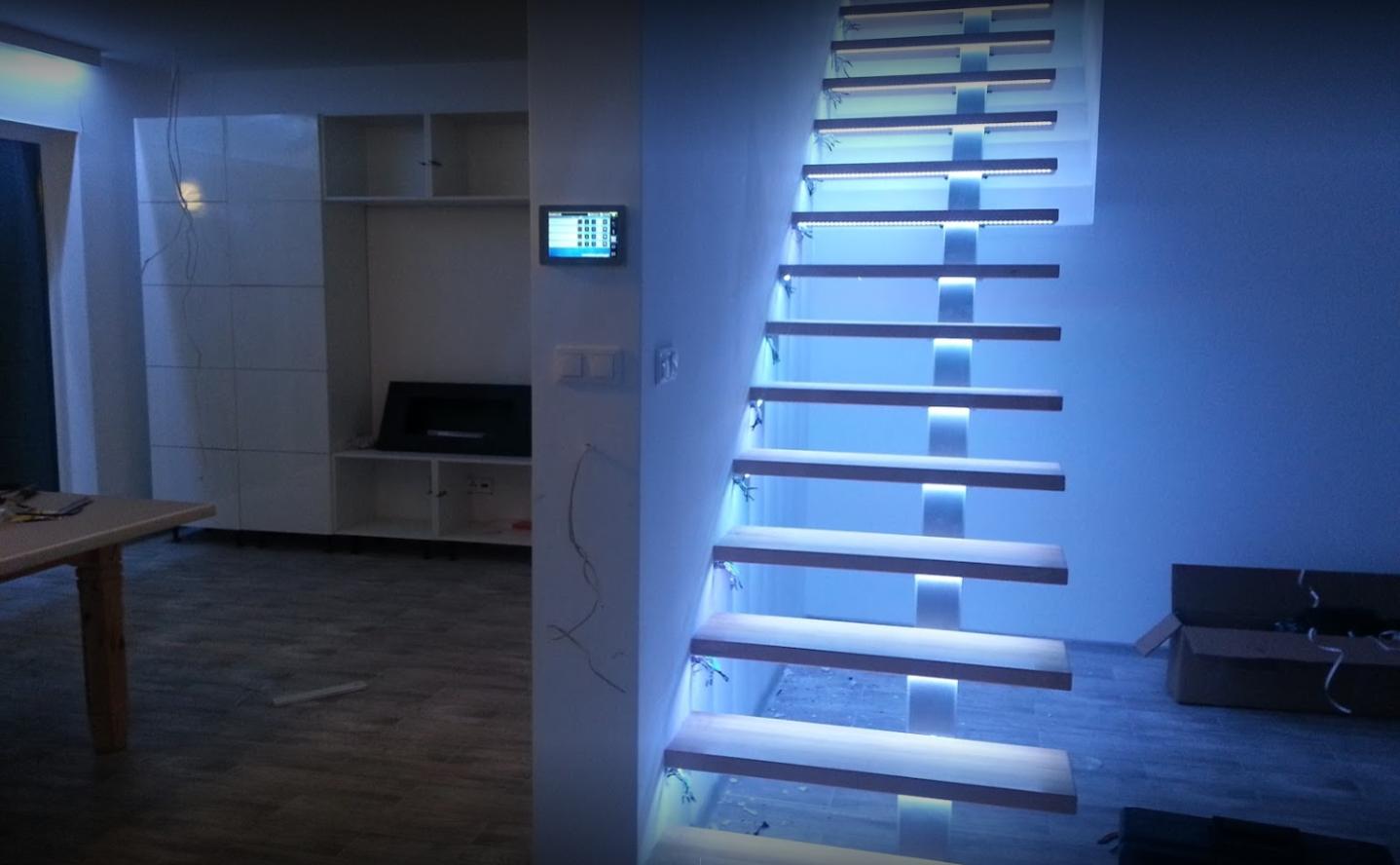 steruj oświetleniem inteligentnego domu