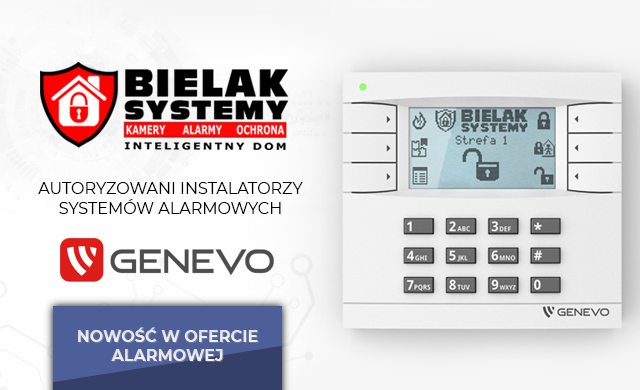 Genevo, autoryzowany dystrybutor i instalator systemów alarmowych genevo