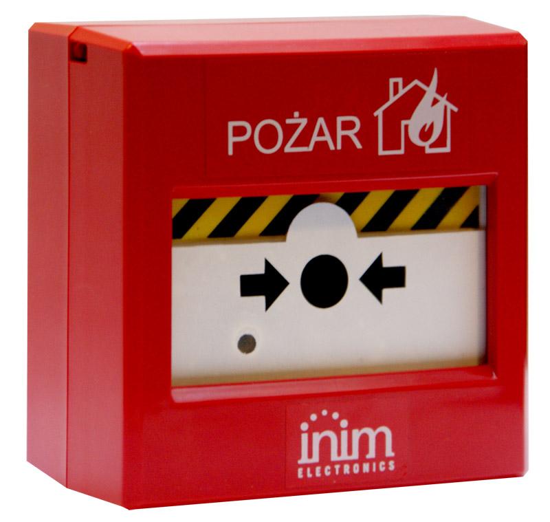 IRIS IC0020 INIM Ręczny ostrzegacz pożarowy z kluczykiem