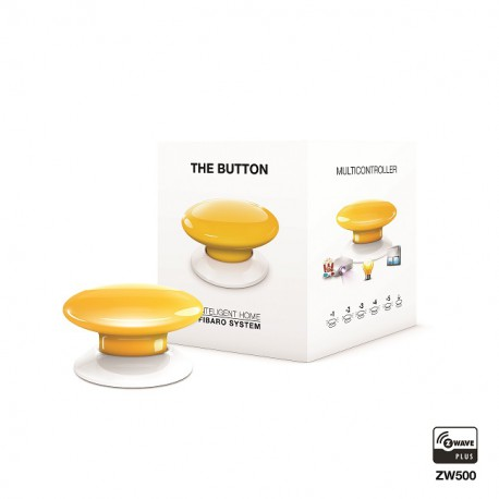 Fibaro The Button FGPB-101-4 żółty