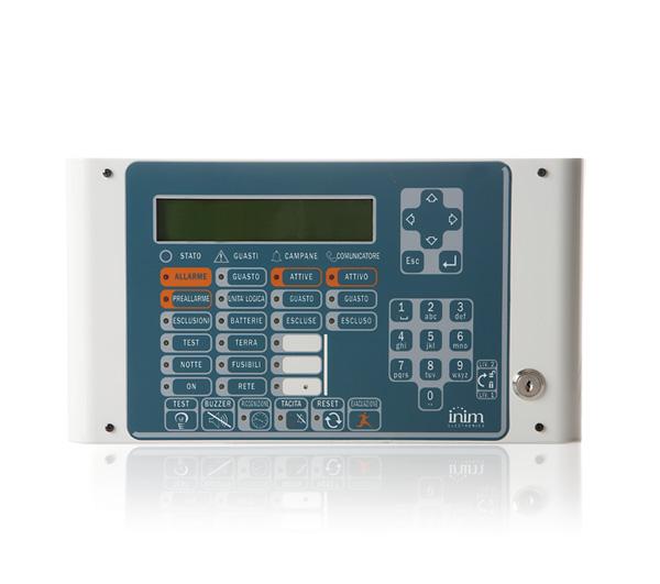 SmartLetUSee/LCD/lite INIM Terminal wyniesiony dla central z serii SmartLight / SmartLine