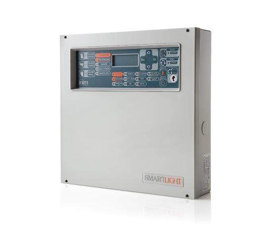 SmartLight/S INIM Adresowalna centrala przeciwpożarowa z obsługą do 64 urządzeń i 16 stref