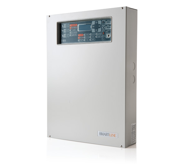 SmartLine036/4 INIM Konwencjonalna centrala przeciwpożarowa 4-strefowa, rozszerzalna do 36 stref