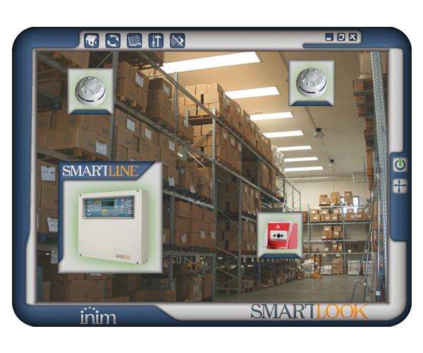 SmartLookF01E INIM Scentralizowane oprogramowanie monitorujące dla systemów alarmowych i pożarowych firmy INIM – wersja rozszerzona