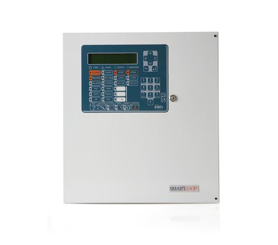 SmartLoop1010/G INIM Adresowalna centrala przeciwpożarowa z obsługą do 240 urządzeń wyposażona w klawiaturę i wyświetlacz, nierozszerzalna