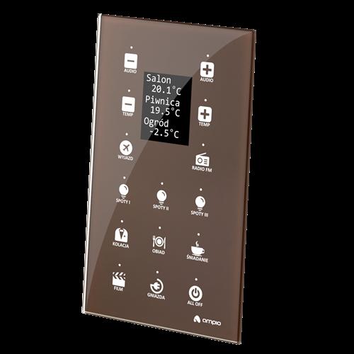 MDOT-15LCD panel piętnastopolowy, kolorowy wyświetlacz LCD