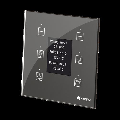MDOT-6LCD panel sześciopolowy, kolorowy wyświetlacz LCD