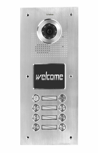 S558 – Stacja bramowa wideodomofonu