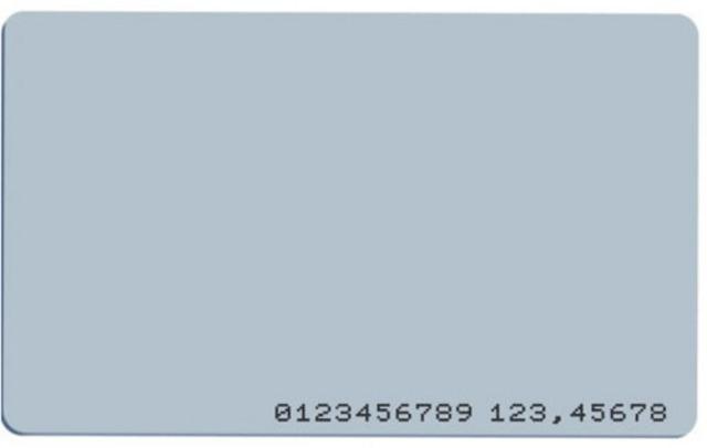 UNIQE1 karta ISO