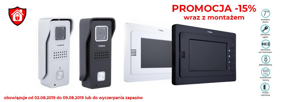 PROMOCJA wideodomofon 15% Bielak-Systemy