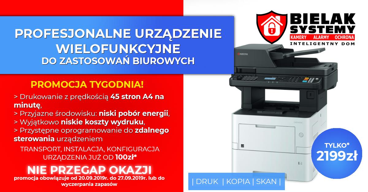 urządzenie wielofunkcyjne, drukarka, skaner Kyocera