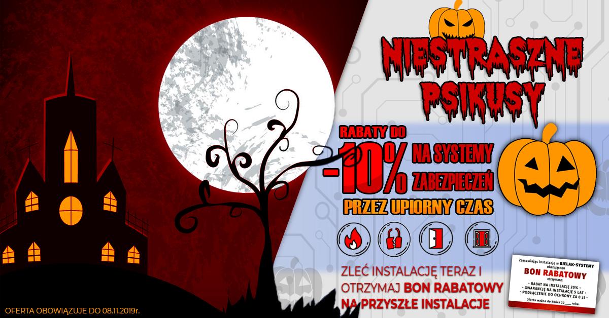 Halloween Straszna Okazja, rabaty halloweenowe
