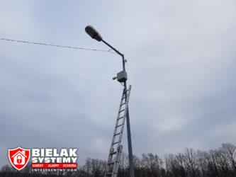 Stacja beznynowa Lotos monitoring cctv