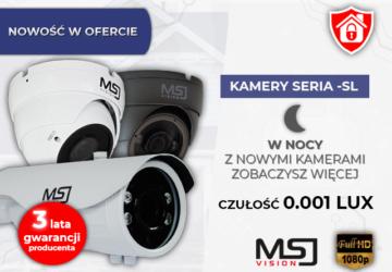 MSJ Vision StarVis 0.001LUX DZIEŃ/NOC Nowość w ofercie