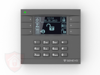 Genevo PRiMA LCD Grey - Black - Manipulator Bezprzewodowy