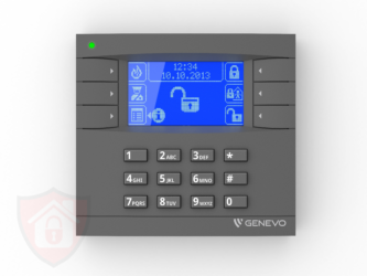 Genevo PRiMA LCD Grey - Blue- Manipulator Bezprzewodowy