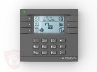 Genevo PRiMA LCD Grey - White- Manipulator Bezprzewodowy