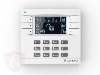 Genevo PRiMA LCD White - Black- Manipulator Bezprzewodowy
