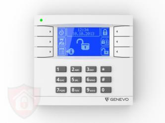 Genevo PRiMA LCD White - Blue- Manipulator Bezprzewodowy