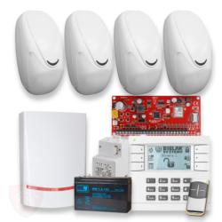 Zestaw alarmowy do mieszkania. domu, stodoły, garażu