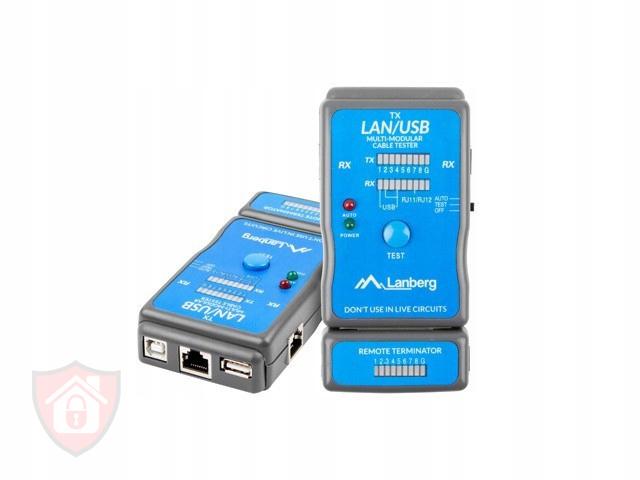 Tester kabli Lanberg NT-0403