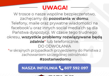 hashtag zostan w domu koronawirus bielak-systemy