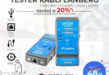 Tester okablowania Lanberg Promocja