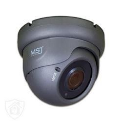 Kamera kopułkowa IP sieciowa grafitowa 5MPx MSJ VIsion BIELAK-SYSTEMY