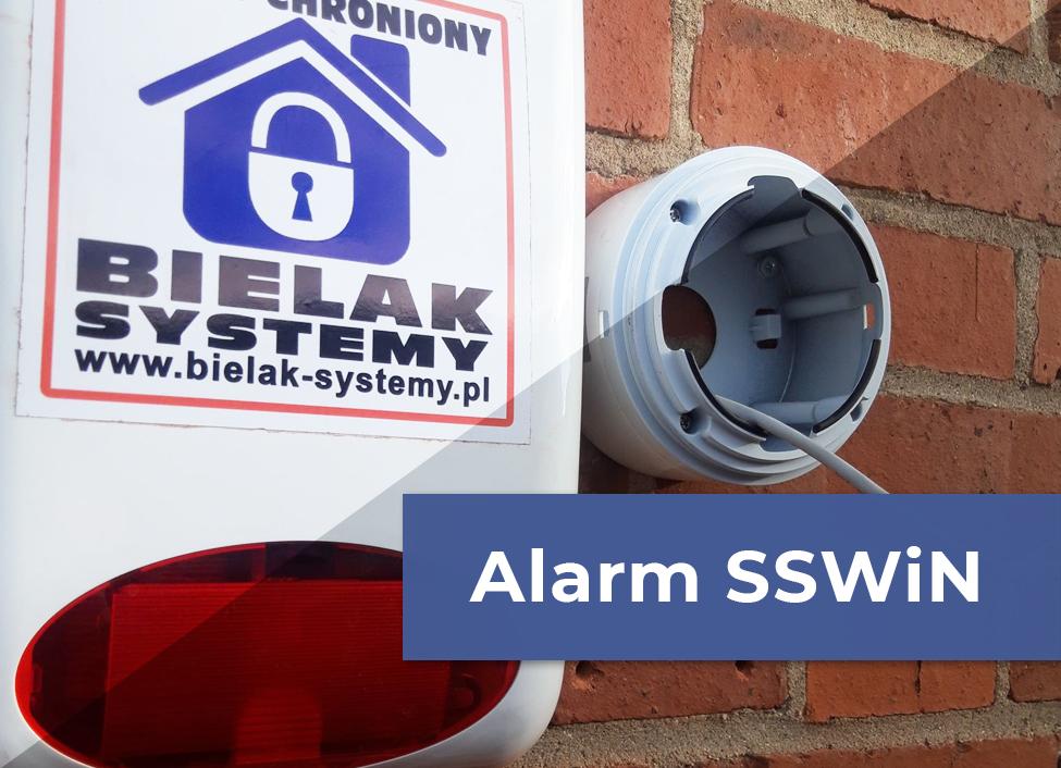 Oferta instalacja systemu alarmowego SSWiN Bielak-Systemy