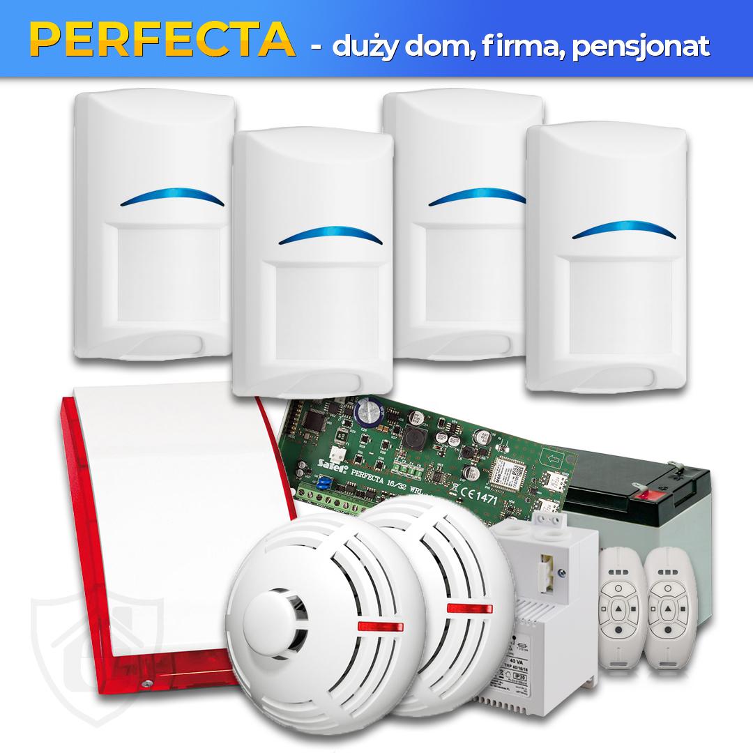 Zestaw Alarmowy Perfecta – dla dużego domu, firmy, zakładu przemysłowego