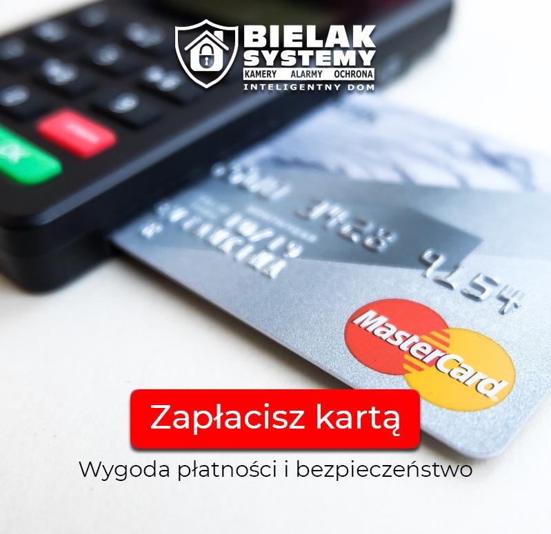 BIELAK-SYSTEMY bezgotówkowe płatność kartą, wygoda