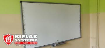 Tablice multimedialne szkoła instalacja Bielak-Systemy