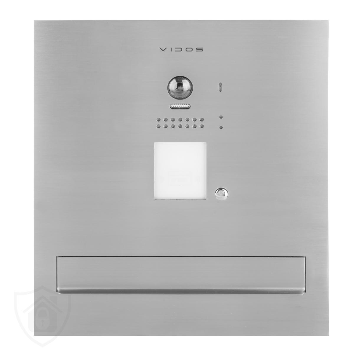 S1201A-SKM – skrzynka na listy z wideodomofonem