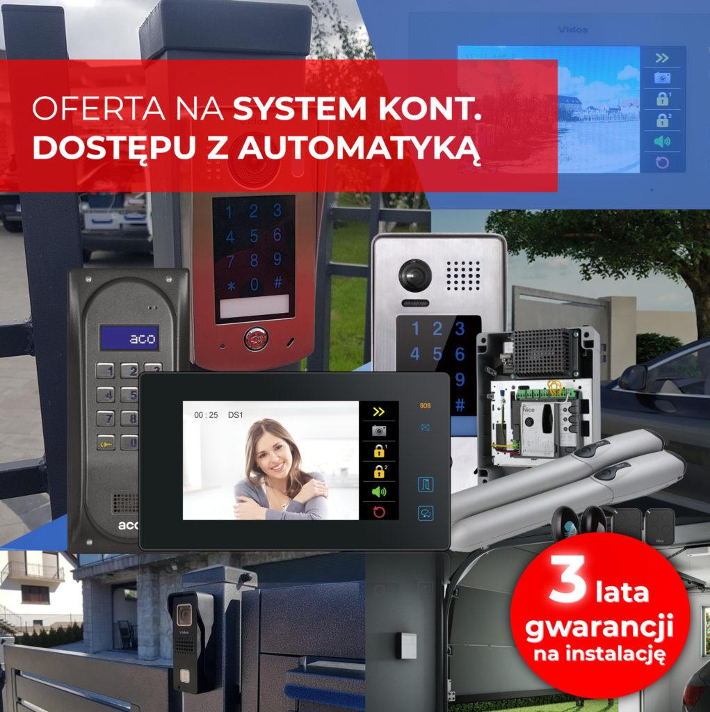 Zobacz ofertę na wideodomofony i kontrolę dostępu BIELAK-SYSTEMY