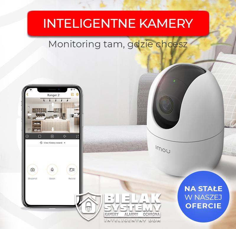 Inteligentne kamery wifi Imou Dahua w naszej ofercie
